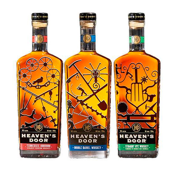 Heavens Door Tennessee Bourbon By Bob Dylan